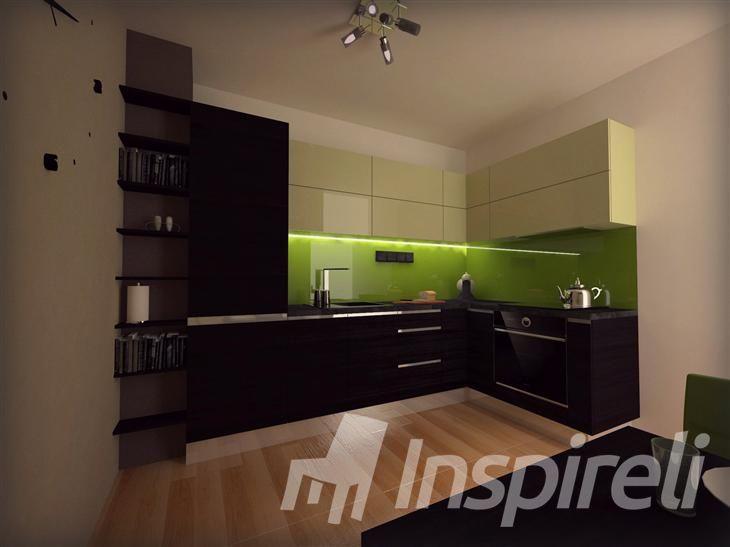 Kuchynská linka - 2 izbový byt