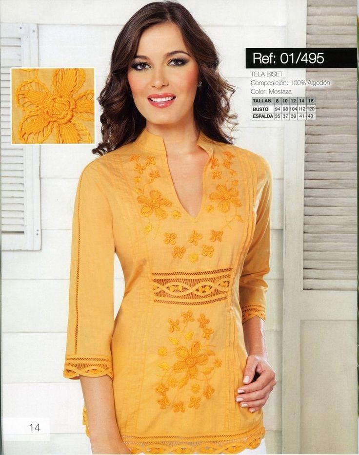 vestidos bordados de cartago - Buscar con Google