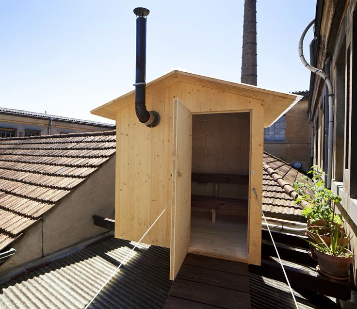 building a homemade sauna | Posted in Architecture