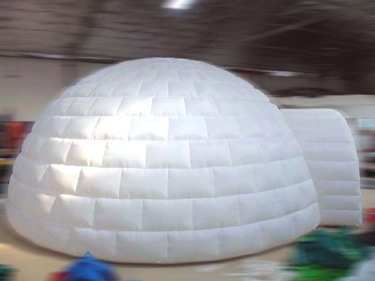 inflatable igloo