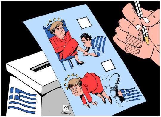 Referendum grecia L'Europa vuole liberarsi di Tsipras: è tutta una questione di potere contro democrazia, più che di denaro e di economia. Se vince il no...