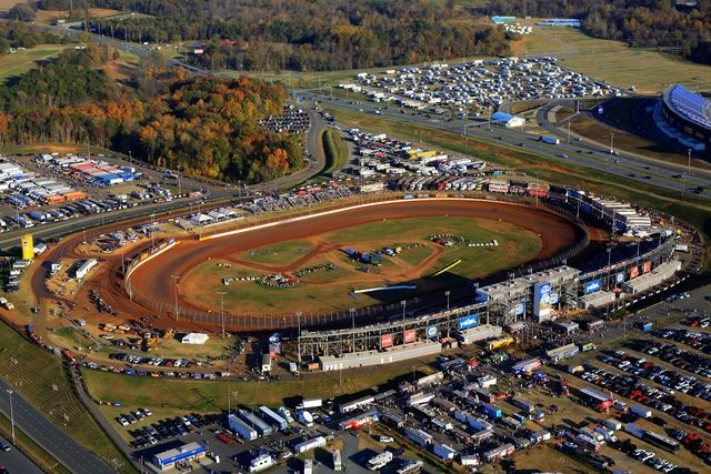 The Dirt Track at Charlotte Motor Speedway, ohhhh this track is AWESOME!!! Can't wait to really enjoy this place when I move up there!!