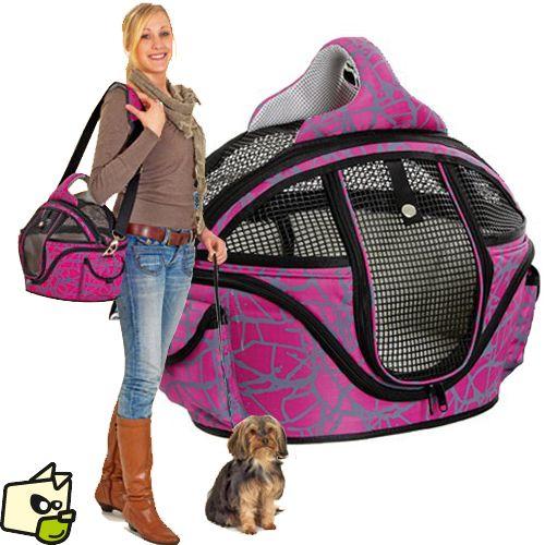 SAC SHOPPER DE LUXE transport petit chien et chat