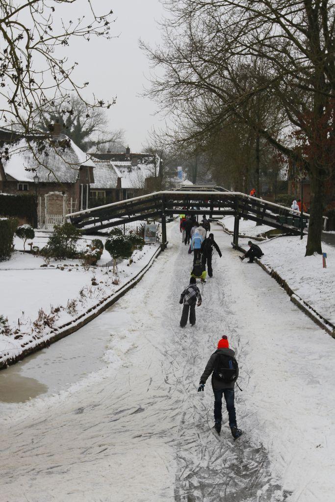 Dorpentocht 2013, Giethoorn, Overijssel.