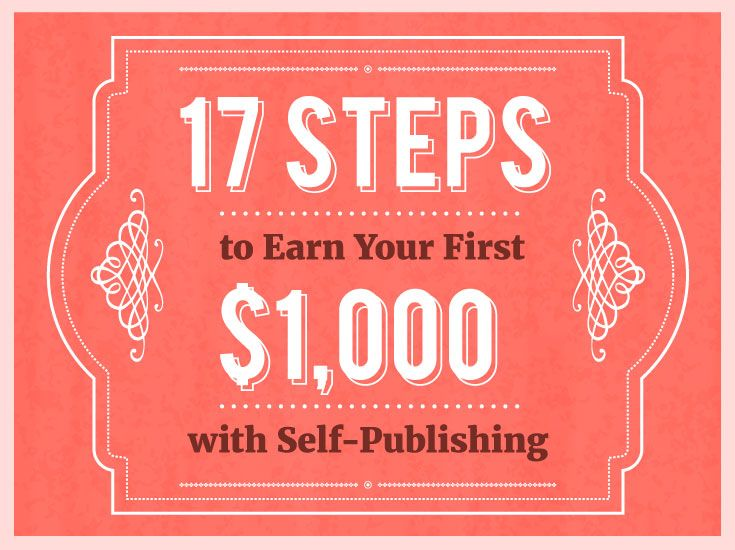 17 Steps to Earn Your First $1,000 with Self-Publishing