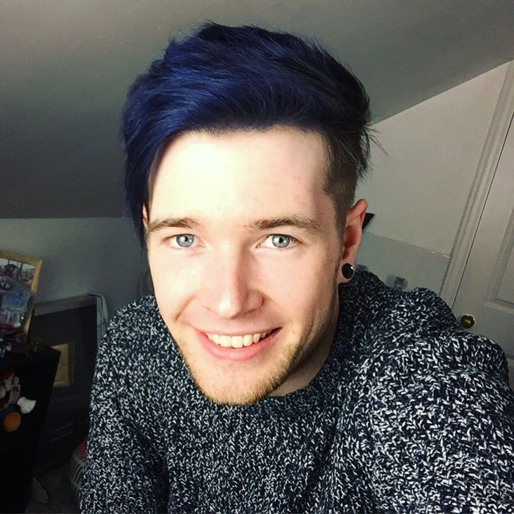 """DanTDM on Twitter: """"Same cut. Different style. More blue!! What ..."""