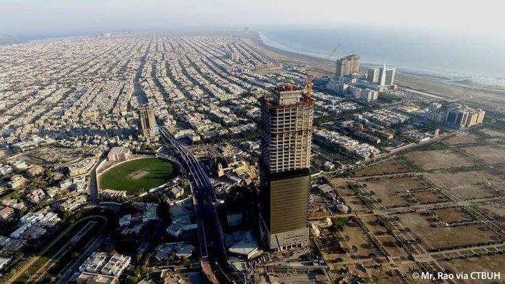 Bahria Icon Tower, Karachi The tallest building in Pakistan
