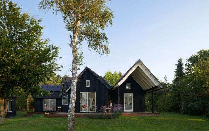 Łączone przestrzenie: Nowoczesny dom o 5 oddzielnych skrzydłach zapewniających prywatność każdemu członkowi rodziny