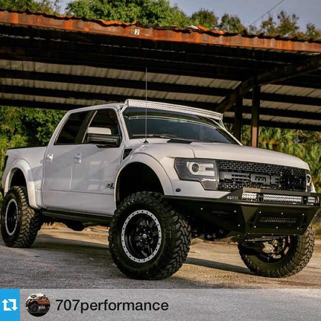 #Repost @707performance with @repostapp. ・・・ 2014 Raptor SVT Another custom creation by 707! @addoffroad @fitautomotive @fiberwerx @fueloffroad @toyotires @rigidindustriesofficial @stainless_works @sarasotalinex #raptor #svt #offroad #707 #sarasotaford #fourwheelporn #trucklife #truckdaily #fordtruck #4x4 #liftedtruck
