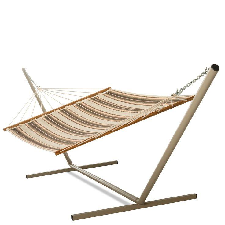 pawleys island hammocks castaway brown and orange stripe quilted hammock  brown and orange stripe quilted the 25  best castaway hammock ideas on pinterest   camping hammock      rh   za pinterest