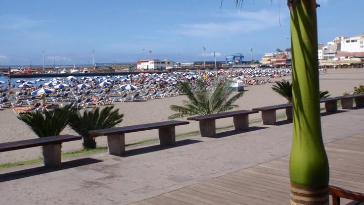 The beach walk Los cristianos