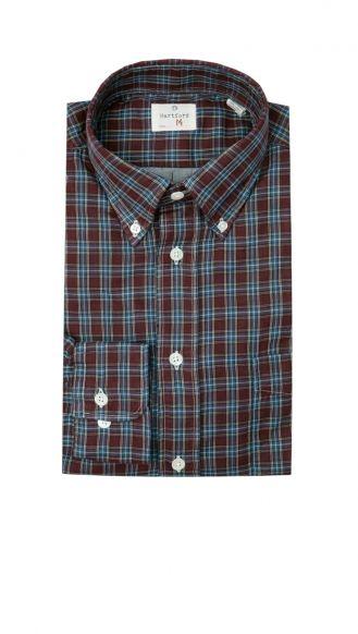 Hartford plaid shirt