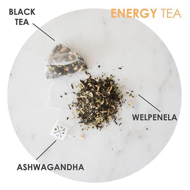 Cuppa tea more your thing? Wake up with our ENERGY TEA  Our ENERGY TEA is made from a combination of black tea with ashwagandha and welpenela to kick start your energy levels and give that extra boost!  Packaged in silk pyramid tea bags and available in 15, 30, 45 and 60 serves.  Shop now at www.coffeenotcoffee.com.au