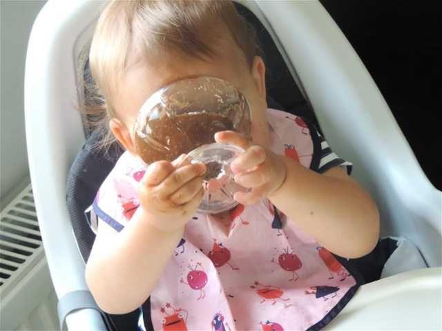 Ruxandra Luca, Budinca cu ciocolata pentru bebelusi