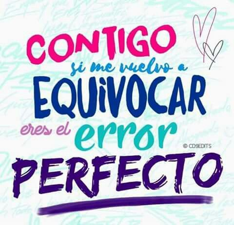 error perfecto ❤