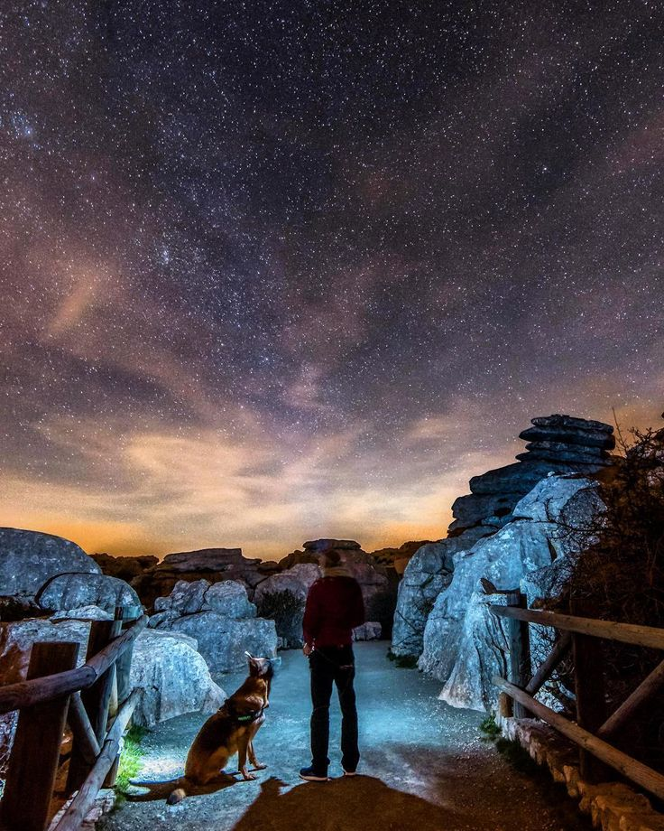 if there's life out there mean they had to have dogs cos there is no life without dogs anyway #torcal de #antequera Nature Reserve is a place to be if you cant sleep  #spain #loves_spain #ig_andalucia #estaes_espania #estaes_andalucia #loves_andalucia #andalucia #greatoutdoors #ok_andalucia#travelphotography #potd #instatravel#visitspain #europe_gallery #landscape#eurotrip #adventurelife #getoutstayout#hikingwithdogs #dogsofinstagram #traveldog#travelphotography #gsd#germanshepherd #alsatian…