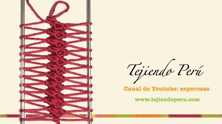 Horquilla: variaciones al tejer las tiras (Parte 2)