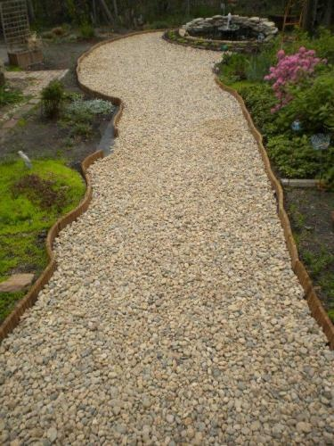 Crushed Stone Walkways : Best images about entry way sidewalk ideas on pinterest