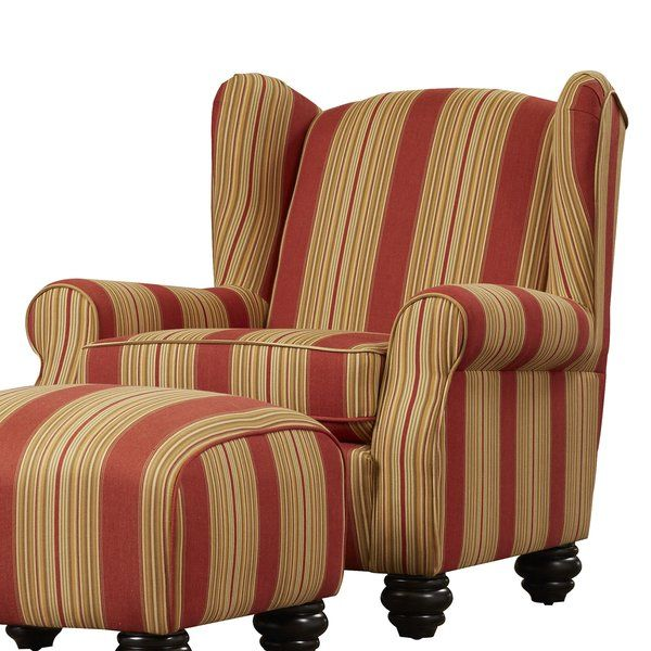 Brougham Wingback Chair And Ottoman Furniture Chair And Ottoman Set Chair And Ottoman