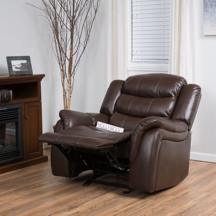 Item specifics     Condition:        New: A brand-new, unused, unopened, undamaged item in its original packaging (where packaging is    ... - #Furniture https://lastreviews.net/home/furniture/traditional-brown-pu-leather-glider-recliner-club-chair/