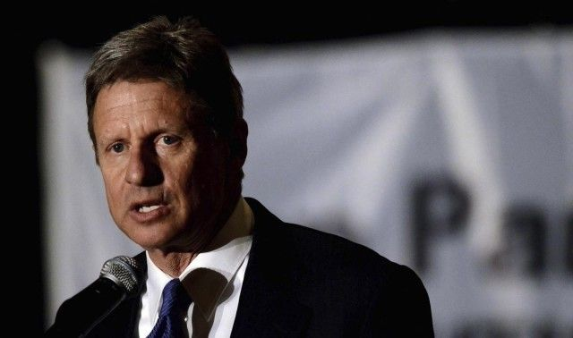 This looks nothing like Gary Johnson who is kind of cute and funny-looking in an appealing way. But what he promotes is none of those things except funny in a weird way like the answer to global warming is colonizing other planets but meanwhile cut funding for NASA. Read the article for his platform. Not a viable alternative. Nor is Jill.