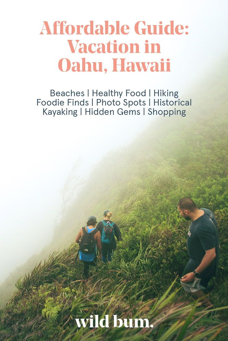 Have an amazing vacation in Oahu, Hawaii! This Wild Bum guide will help you save…