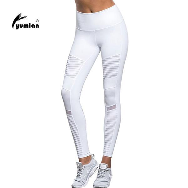 Fitness Mesh Patchwork Leggings