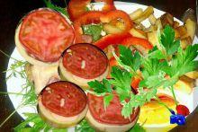 Фаршированные кабачки с мясом