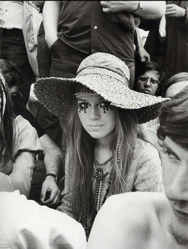 "A Rolling Stones fan at ""The Stones in the Park"" free concert in London's Hyde Park, July 1969"
