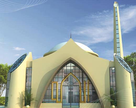 Karachi Mosque in Pakistan