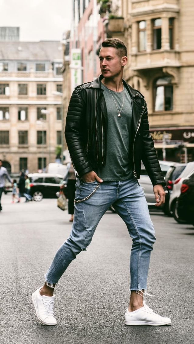 Bad boy style outfits for men   ropa en 2019   Mens ...