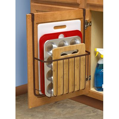 You'll love the Ashley Over the Cabinet Cutting Board and Bakeware Holder at Wayfair - Great Deals on all Furniture products with Free Shipping on most stuff, even the big stuff.