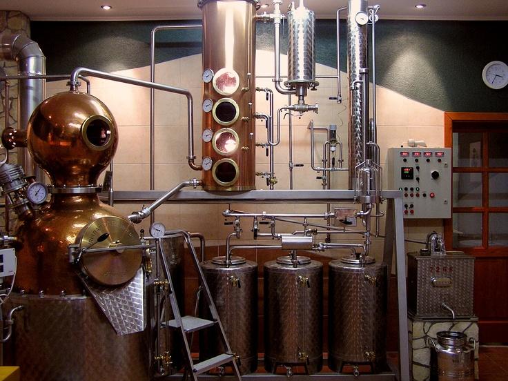 Brill Pálinka Distillery and Tasting House, Hungary