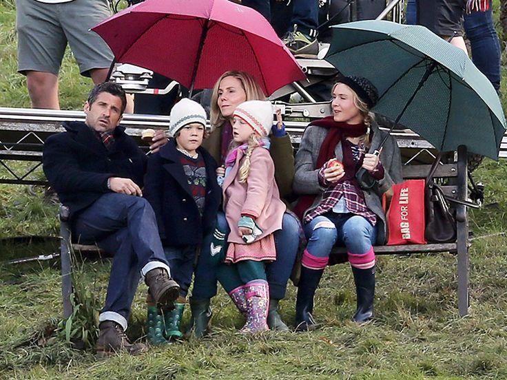 Renée Zellweger Is Ready to Pop as Bridget Jones in New Bridget Jones's Baby Photos| Bridget Jones, Bridget Jones: The Edge of Reason, Bridget Jones's Diary, Movie News, Colin Firth, Patrick Dempsey, Renee Zellweger