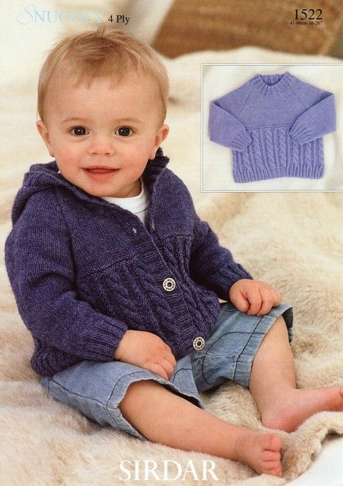 Sirdar--Sweater and Jacket (birth through 6 years)