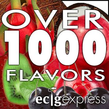 We carry over 1000 DIY flavorings and premixed e liquids