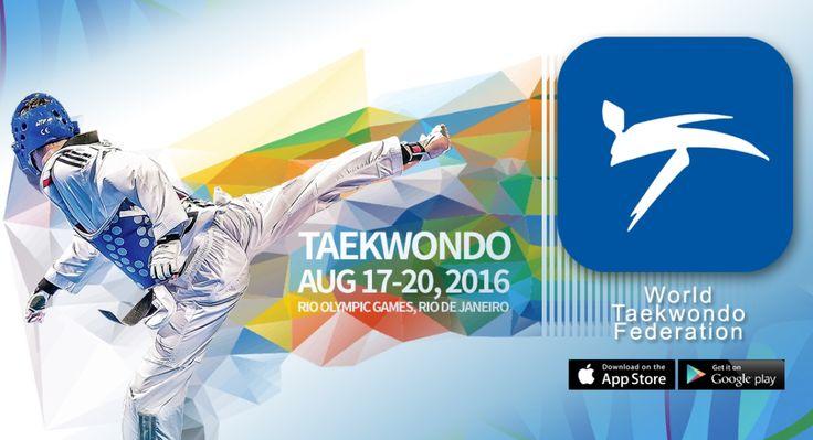 Η Παγκόσμια Ομοσπονδία Τάε Κβον Ντο (WTF) ξεκίνησε μια ειδική εφαρμογή για κινητά για το Ρίο 2016 . Η εφαρμογή «Παγκόσμια Ομοσπονδία…