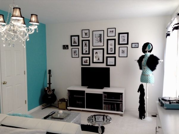 Awesome Teen Tiffany U0026 Co. Inspired Room, Teen Bedroom , Girls Rooms Design Pictures