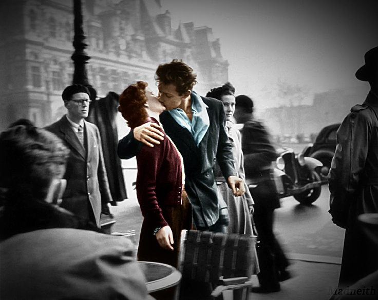 Doisneau: Kiss, Robertdoisneau, The Kiss, They Would, Deville, Robert Doisneau, Photography