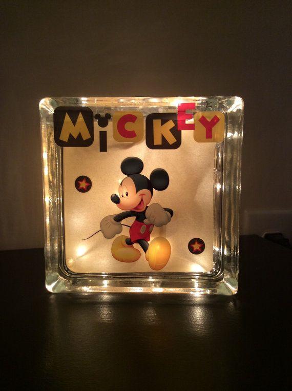Mickey Mouse Night light-Disney Mickey by StarrySkiesBoutique