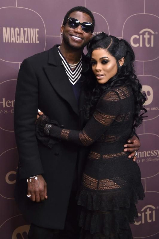 f9b0f4f2646 Gucci Mane Keyshia Ka oir - Stars at pre-parties for the 2018 Grammy Awards