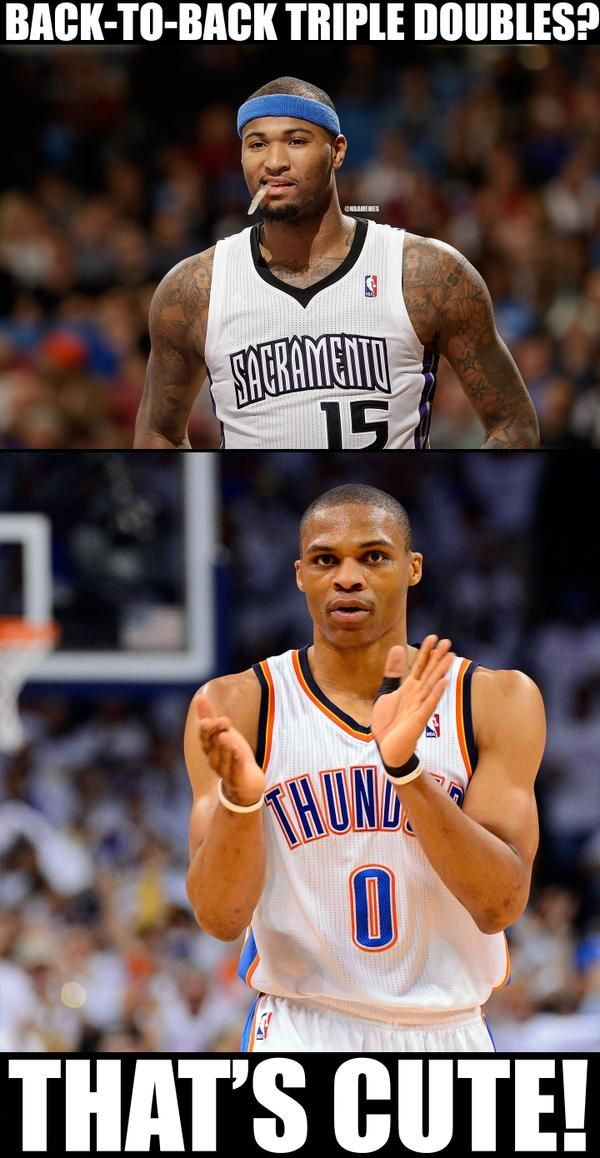 DeMarcus Cousins vs. Russell Westbrook! #Thunder #Kings ...