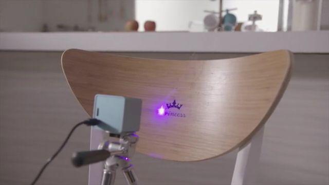 The Cubiio: A Portable Laser Engraver!