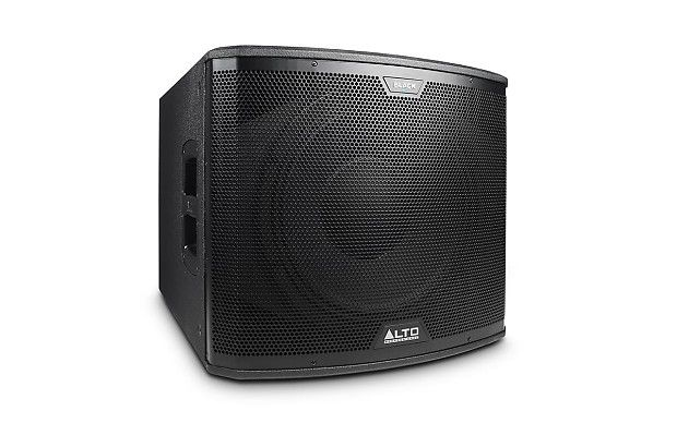 "Please Note: This item can only be shipped to customers with Business Addresses. For customers with Residential Addresses, please send us a message for more information before placing your order.    ALTO BLACK 15SUB 2400 Watt 15"" Active Subwoofer    Built to Thrill    Alto Professional's Black Series is a full line of elite speaker systems, each designed to exacting standards with premium, purpose-matched components, wireless capability, and immense built-in power.         FINE-TUNED PO"