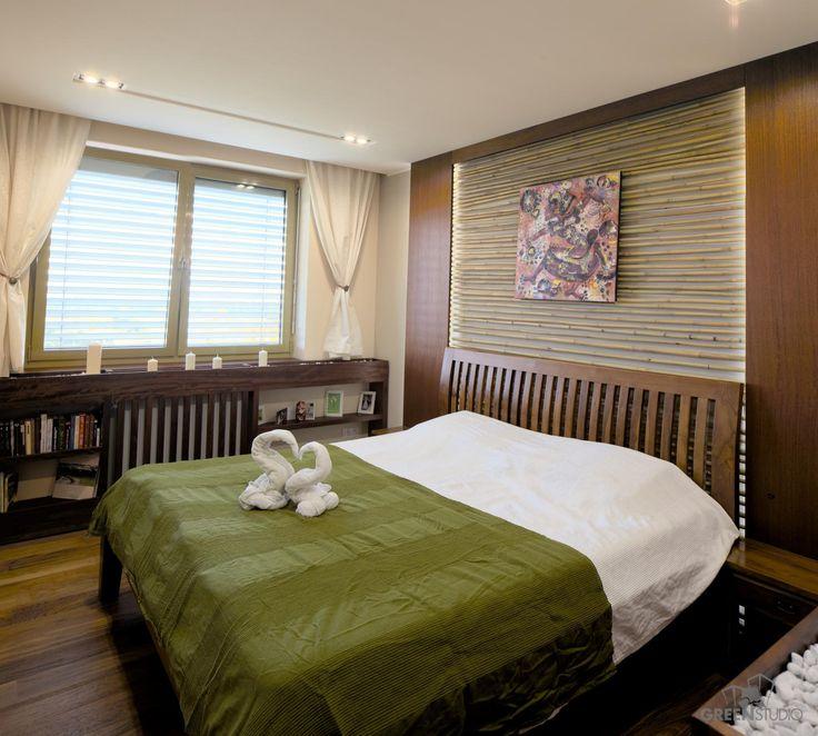 Interiér bytu na Bosákovej ulici - spálňa
