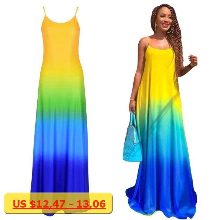 2017 Large Size Dress Vestidos Party Dresses Sundress Women Sexy Boho Summer Casual Chiffon Evening Party Beach Long Maxi Dress