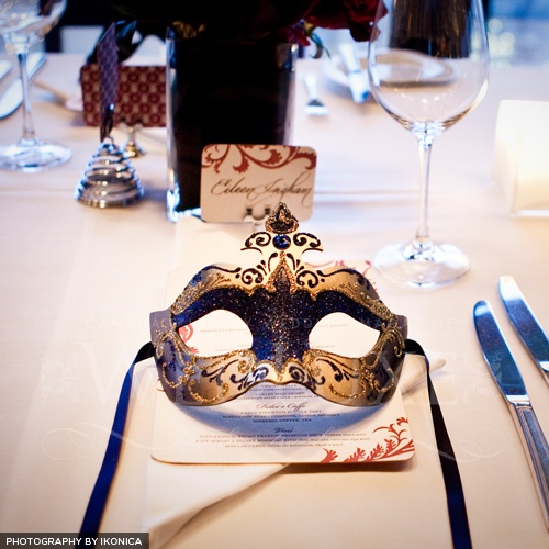 Masquerade Ball...Wish my bridesmaids would've followed along instead of backing out on this idea. It would've been SO fun!