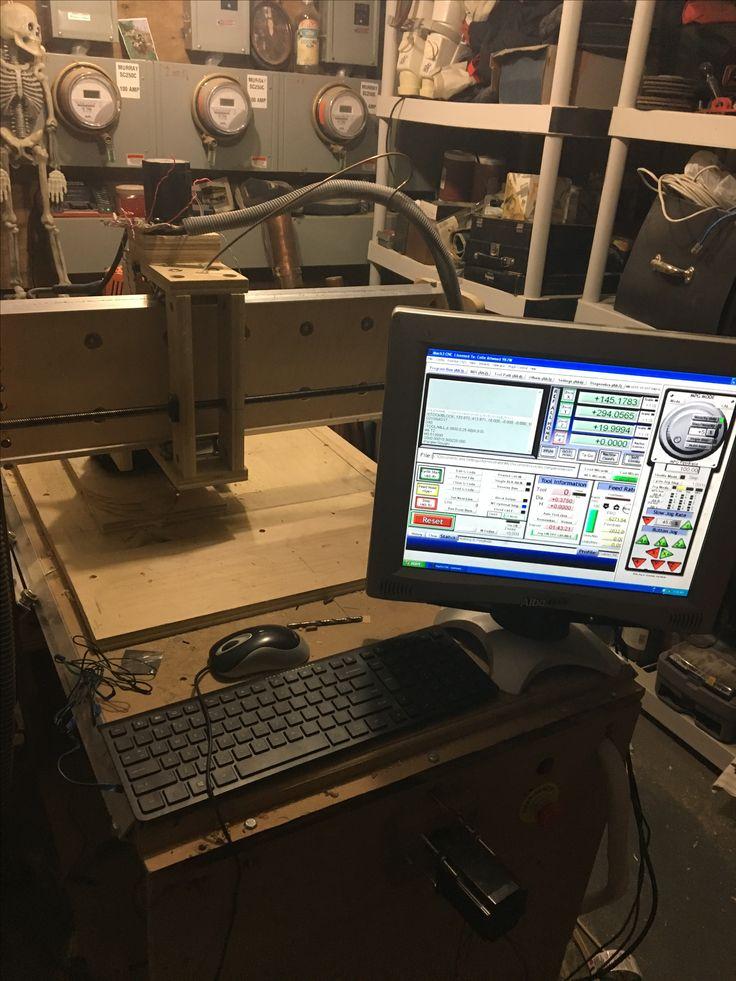 My Home built CNC machine