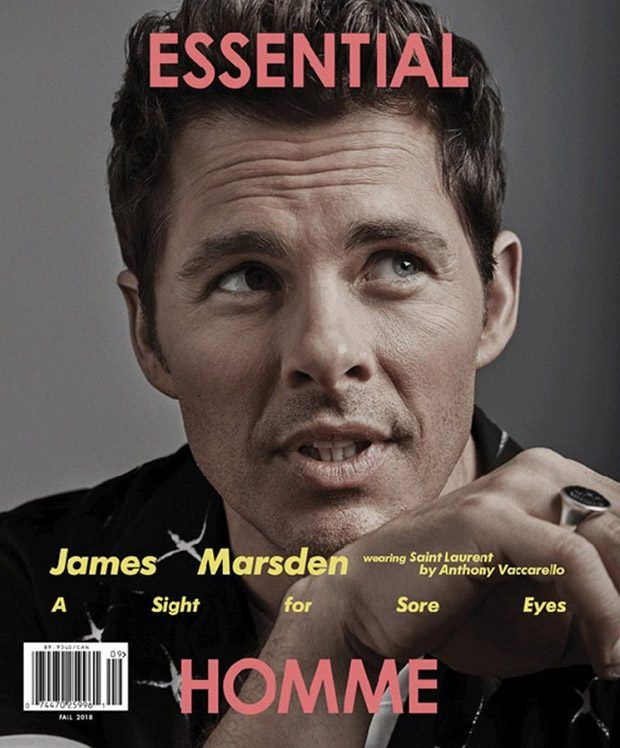James Marsden Stars In Essential Homme Magazine Fall 2018