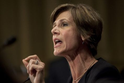 Sally Yates warns America of creeping autocracy in chilling rebuke of Trump==The former DOJ official's warnings are disturbing. But they are exactly what America needs to hear.